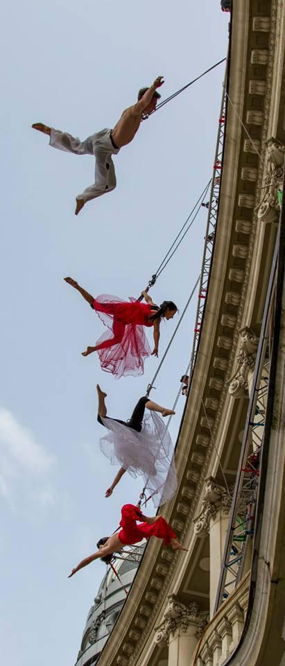 Dans și adrenalină la wall dance