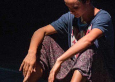 Pescărușul gimnastică ritmică cerc